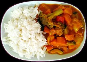 huepfkuh kocht gemüse-kokos-curry
