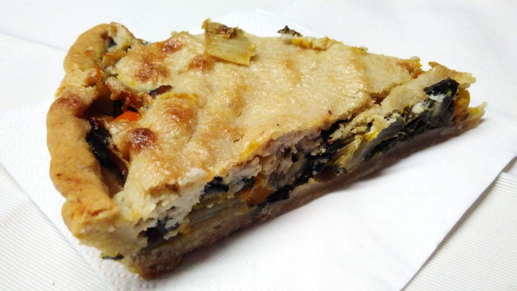 Kürbis-Mangold-Tarte