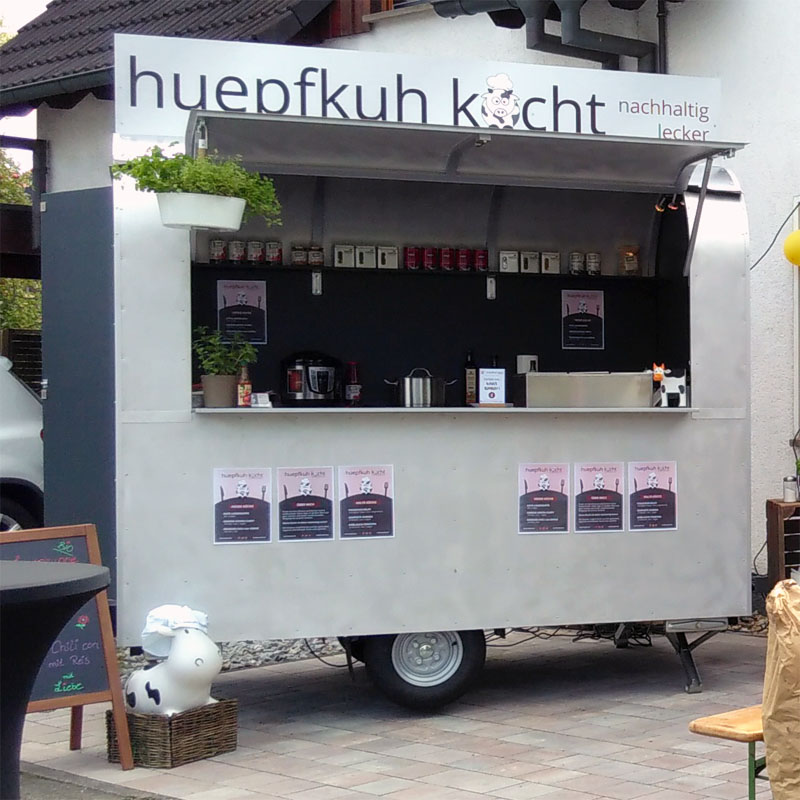 huepfkuh kocht - Food Trailer